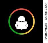manual   app icon | Shutterstock .eps vector #1205817520