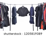 set of different clothes for...   Shutterstock . vector #1205819389