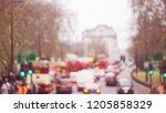 blurry abstract bokeh town ... | Shutterstock . vector #1205858329