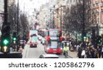 abstract blurry bokeh town in... | Shutterstock . vector #1205862796