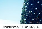 abstract  christmas tree ... | Shutterstock . vector #1205889016