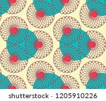 graphic floral tracery grid... | Shutterstock .eps vector #1205910226