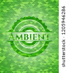 ambient realistic green mosaic... | Shutterstock .eps vector #1205946286