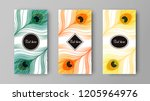 vector design of leaflets with... | Shutterstock .eps vector #1205964976
