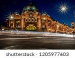 flinders street station | Shutterstock . vector #1205977603