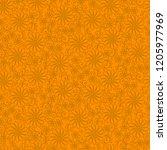 geometric seamless yellow... | Shutterstock . vector #1205977969