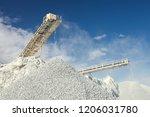 conveyor belt at the equipment... | Shutterstock . vector #1206031780