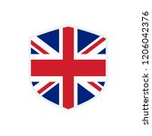 united kingdom flag. united... | Shutterstock .eps vector #1206042376
