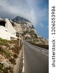 gibraltar  united kingdom  2nd... | Shutterstock . vector #1206053986