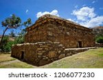 the funerary compound of ichic... | Shutterstock . vector #1206077230