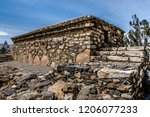 the funerary compound of ichic... | Shutterstock . vector #1206077233
