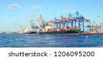 Shipyard And Harbor...