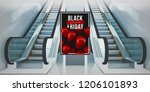 black friday billboard... | Shutterstock . vector #1206101893