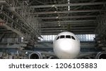Small photo of Airplane in Hangar