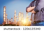 industrial engineering at...   Shutterstock . vector #1206135340