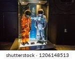 houston  texas   august  2018 ... | Shutterstock . vector #1206148513