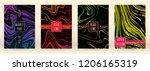 digital marble cover design for ... | Shutterstock .eps vector #1206165319