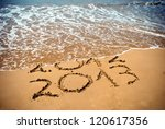 New Year 2013 Is Coming Concep...