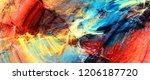 bright artistic splashes....   Shutterstock . vector #1206187720