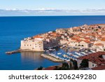 croatian coast scenery | Shutterstock . vector #1206249280