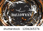 creative poster design with... | Shutterstock .eps vector #1206265276