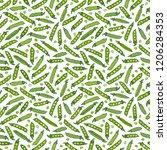 seamless endless pattern of... | Shutterstock .eps vector #1206284353