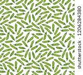 seamless endless pattern of... | Shutterstock .eps vector #1206284380