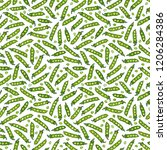 seamless endless pattern of... | Shutterstock .eps vector #1206284386