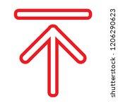 upgrade icon vector   Shutterstock .eps vector #1206290623