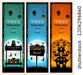 website banner poster or... | Shutterstock .eps vector #1206296860