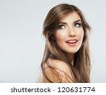 woman hair style fashion... | Shutterstock . vector #120631774