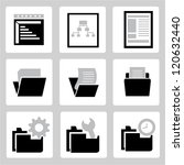 documents set | Shutterstock .eps vector #120632440