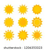 Sun Icons. Vector Design...