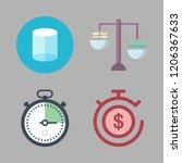 precision icon set. vector set... | Shutterstock .eps vector #1206367633