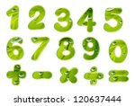 Illustration Of Numbers And...