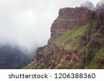 mountain landscape of the masca ... | Shutterstock . vector #1206388360
