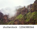 mountain landscape of the masca ... | Shutterstock . vector #1206388366