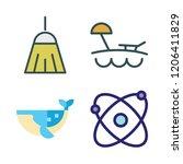 coast icon set. vector set...   Shutterstock .eps vector #1206411829