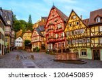 Colorful Half Timbered Houses...