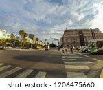 buenos aires  argentina  ... | Shutterstock . vector #1206475660