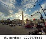 buenos aires  argentina  ... | Shutterstock . vector #1206475663