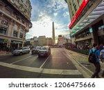 buenos aires  argentina  ... | Shutterstock . vector #1206475666