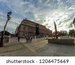 buenos aires  argentina  ... | Shutterstock . vector #1206475669