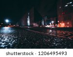 wide angle abstract shot from... | Shutterstock . vector #1206495493