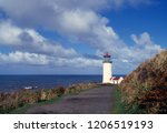 lighthousa coast sea | Shutterstock . vector #1206519193