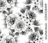 abstract elegance seamless...   Shutterstock . vector #1206528409