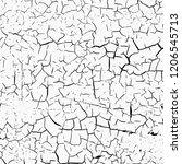 crack texture vector background. | Shutterstock .eps vector #1206545713