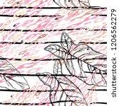 tropical  stripe  animal motif. ...   Shutterstock .eps vector #1206562279