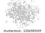 light silver  gray vector... | Shutterstock .eps vector #1206585439