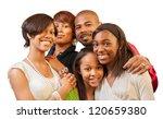 happy african american family... | Shutterstock . vector #120659380